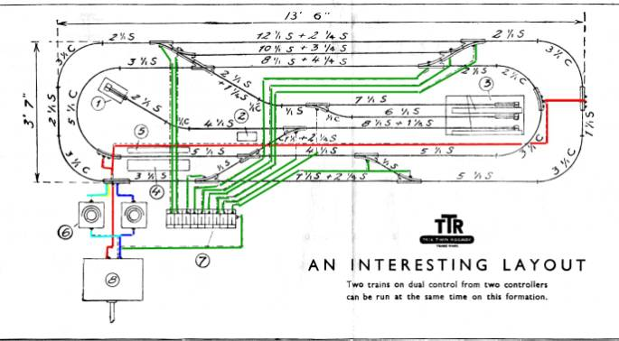 ttr track plans i have added colours to clarify the wiring below is a list of the track you need to build this layout track plans 4bis